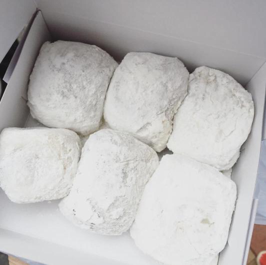 糯米糍皮薄,食落軟綿綿