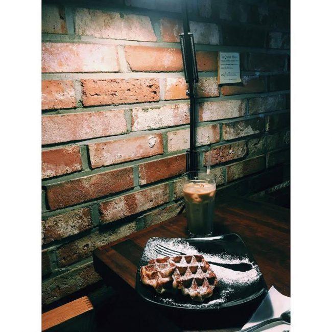 韓國, 首爾, 梨大, cafe, Waffle It Up