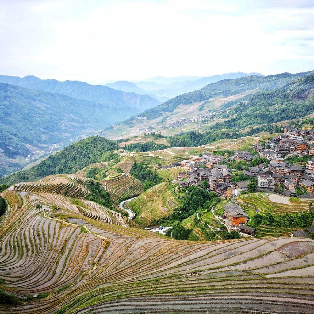 中國, 廣西, 桂林, 龍脊梯
