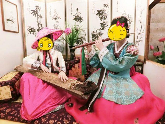 韓國, 明洞, 韓服影相, Goguan古館