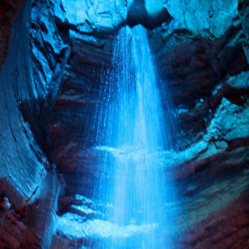 美國田納西州 ,紅寶石瀑布, Ruby Falls, 景點