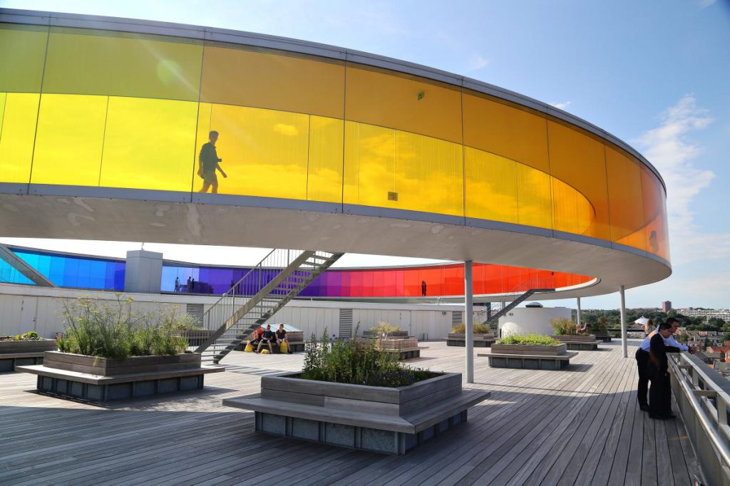 Rainbow Panorama, 丹麥, 奧胡斯藝術博物館, ARoS Aarhus Art Museum