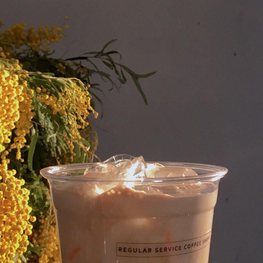 韓國首爾,麻浦區袋裝咖啡, REGULAR SERVICE COFFEE SHOP ,레귤러서비스