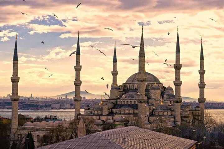 土耳其依斯坦堡, 藍廟, The Blue Mosque, 蘇丹阿密清真寺, Sultan Ahmed Mosque