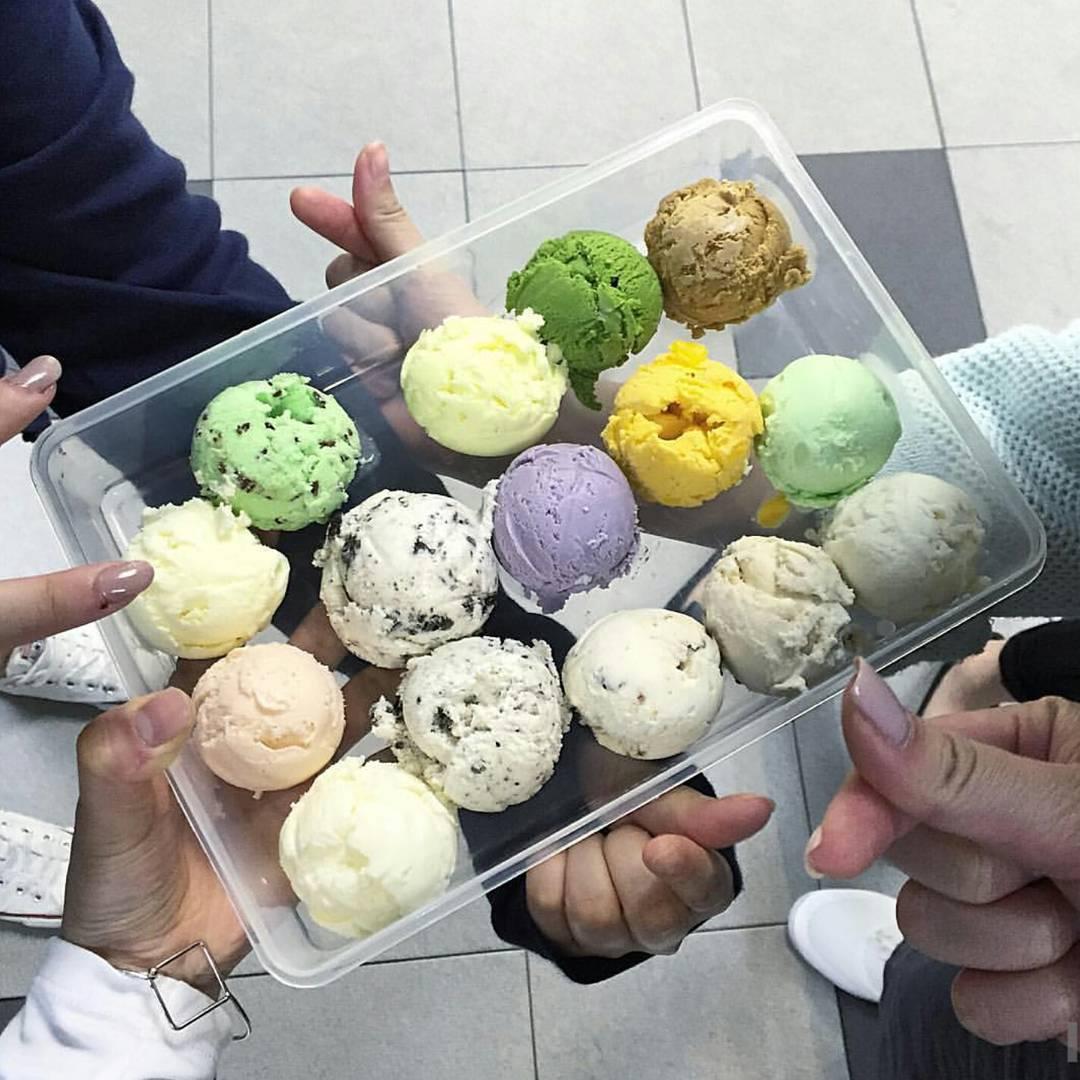 花花棉花糖, 葵廣, 雪糕