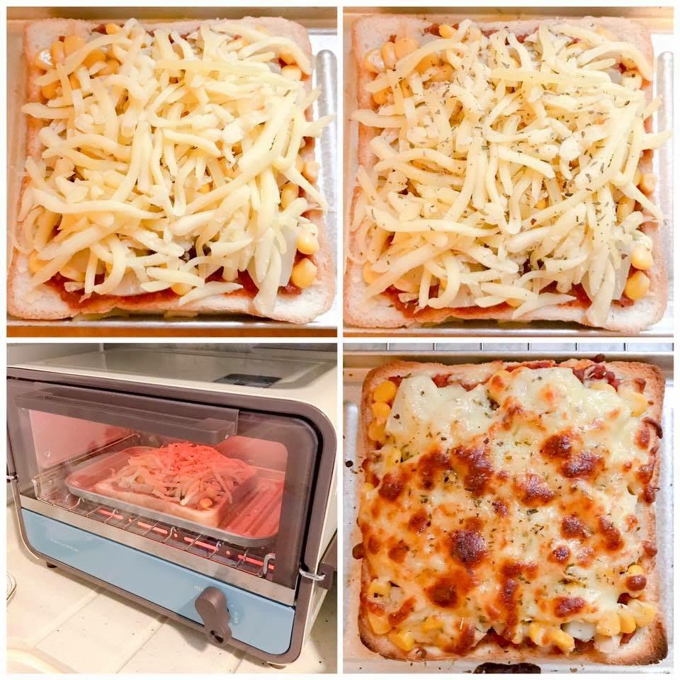 pizza多士