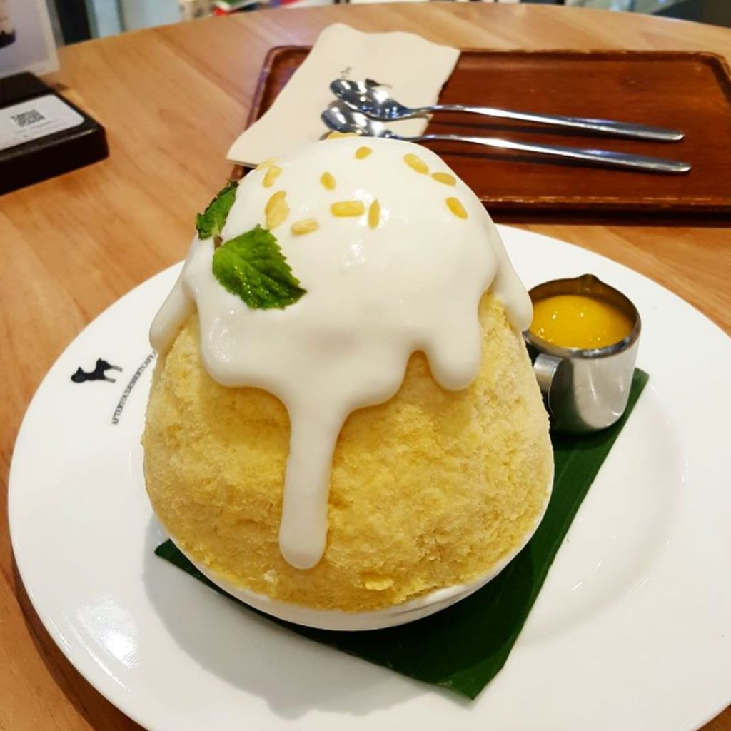 After You Dessert 芒果糯米飯刨冰