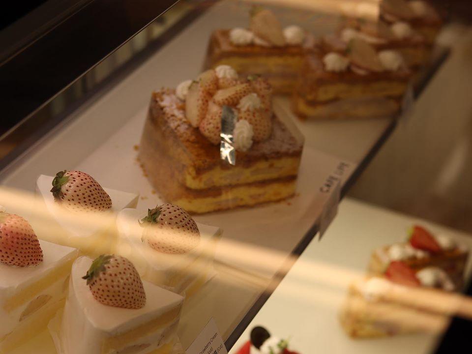 日本直送淡雪士多啤梨蛋糕
