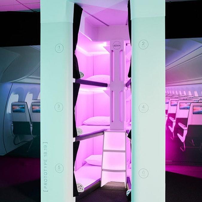 新西蘭航空 膠囊酒店