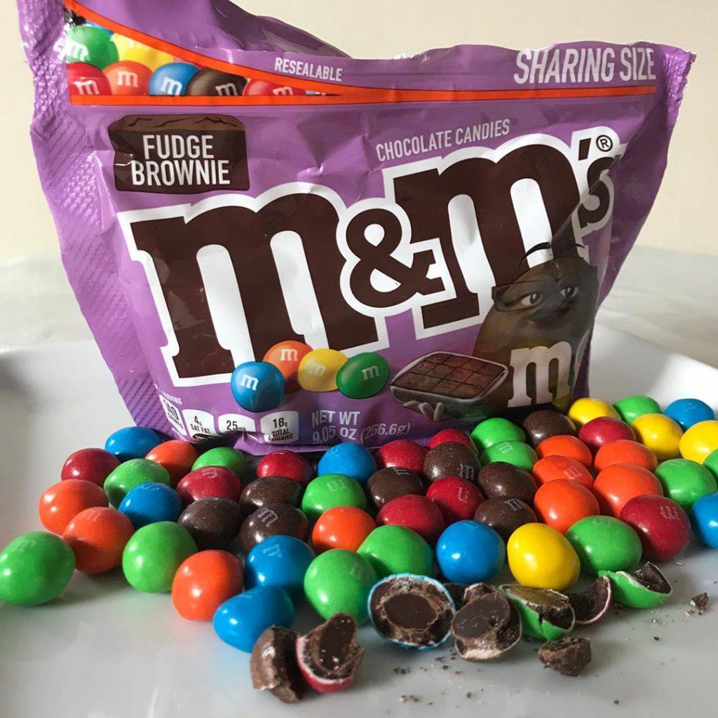 M&M's推出新品朱古力Brownie
