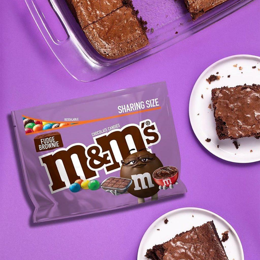 M&M's推出新品朱古力Brownies