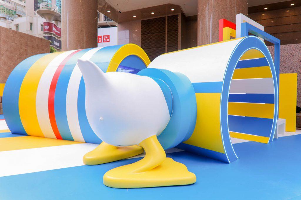 Donald Duck Geometric World