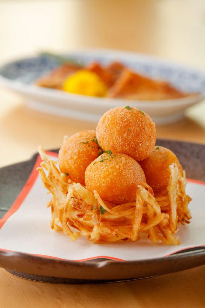 天月日本餐廳  南瓜年糕