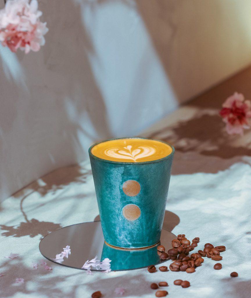 Natura:豆奶拿鐵咖啡